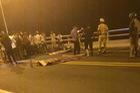 Va chạm xe máy trên cầu Giao Thủy, 2 người chết