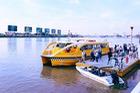 Cận cảnh tuyến buýt đường sông với nội thất hiện đại lần đầu tiên chạy thử nghiệm ở Sài Gòn
