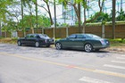 Bộ đôi xe siêu sang 53 tỷ Đồng của đại gia Hải Dương khoe dáng cùng nhau