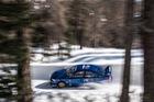 Xem Subaru WRX STI trình diễn trong lòng máng trượt tuyết