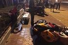 Phan Thiết: Nam thanh niên chạy Honda CBR1000RR không mũ bảo hiểm, tông vào xe máy, tử vong tại chỗ