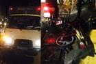 Hà Nội: Chạy tốc độ cao tông vào xe tải, nam thanh niên gãy chân