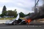 Siêu xe 2 triệu USD tan thành khói!