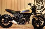 Cận cảnh môtô hợp túi tiền Ducati Scrambler tại Hà Nội