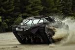 Xe chống zombie tạo hình cực cool