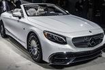 Cận cảnh xe mui trần siêu sang Mercedes-Maybach S650 Cabriolet ngoài đời thực