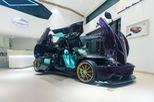 """Ngẩn ngơ trước màu tím carbon của """"thần gió"""" Pagani Huayra phiên bản rồng"""