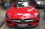Giải mã biển kiểm soát CV trên siêu xe Mercedes-AMG GT S tại Hà thành