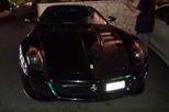 """Bắt gặp siêu xe Ferrari 599 GTO của """"viên ngọc đen"""" Lewis Hamilton khoe tiếng pô trong đêm"""