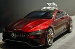 """Xem """"quả bom sex 4 bánh"""" Mercedes-AMG GT Concept lăn bánh ra khỏi triển lãm Geneva 2017"""