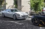 Xế lạ David Brown Speedback GT xuất hiện cùng siêu xe Koenigsegg dát vàng và đính kim cương