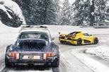 Xem Koenigsegg Agera RS vượt đường tuyết để tham gia triển lãm Geneva