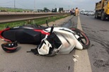 Bắc Ninh: Phóng nhanh trên phố, nam thanh niên chạy Yamaha Exciter 150 tử vong tại chỗ