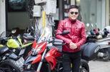 Diễn viên Hồng Đăng sắm Ducati Hyperstrada 939 chơi Tết