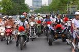 """""""Chất chơi"""" với đám rước dâu của stunter Việt được hộ tống bằng xe ATV và phân khối lớn"""