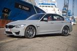 Cận cảnh BMW M3 sơn màu xám như xe Audi