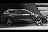 Xuất hiện hình ảnh ngoại thất chính thức đầu tiên của Mazda CX-8, giống cả CX-5 lẫn CX-9