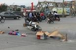 Hà Nội: Xe tải bỏ chạy sau khi cán chết người phụ nữ