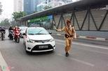 Tước bằng lái 10 tài xế chạy xe vào đường buýt BRT