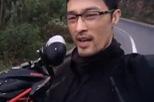 Johnny Trí Nguyễn gặp tai nạn khiến chiếc mô tô Ducati Hypermotard hỏng nặng