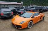 Hàng chục siêu xe và xe siêu sang xuất hiện tại miền núi Cao Bằng gây choáng