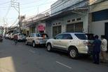 Dàn xe Toyota Fortuner tham gia rước dâu tại Sài thành