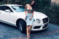 Ông trùm dầu mỏ mua Bentley Continental GT V8 cho cô vợ hot girl kém 37 tuổi
