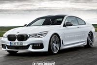 BMW 7-Series sẽ có phiên bản coupe, cạnh tranh với Mercedes-Benz S-Class Coupe