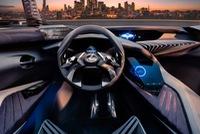 Hé lộ nội thất của crossover hạng sang cỡ nhỏ Lexus UX