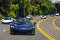 Đã mắt dàn siêu xe McLaren biểu diễn