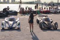 Đã mắt dàn siêu xe trong sản phẩm âm nhạc mới của Flo Rida