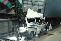 Sài Gòn: Container gây tai nạn kinh hoàng cầu Phú Mỹ, một người tử vong