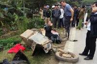 Hòa Bình: Hai người Mỹ thương vong do lái mô tô va chạm với xe tải ngược chiều
