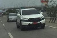 Honda CR-V 2017 dành cho Đông Nam Á xuất hiện trên đường phố