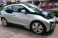 Xe điện BMW i3 của ông chủ Mai Linh tái xuất tại Sài thành