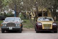Hà Nội: Rolls-Royce Silver Spirit MarkI và Rolls-Royce Ghost mạ vàng cùng nhau xuất hiện