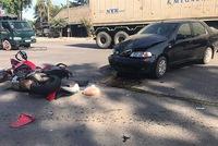Đồng Nai: Ducati Multistrada 1200 hỏng nặng sau va chạm với ô tô