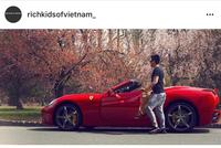 Xem giới trẻ Việt khoe siêu xe, xe siêu sang trên Instagram