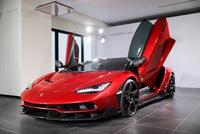 Siêu phẩm Lamborghini Centenario màu đỏ rực đầu tiên trên thế giới xuất hiện tại Đài Loan