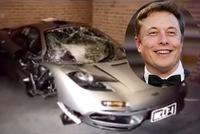 CEO Tesla từng sở hữu McLaren F1 rồi phá hỏng siêu xe này