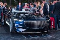 Chiêm ngưỡng vẻ đẹp xuất sắc của Vision Mercedes-Maybach 6 Cabriolet ngoài đời thực