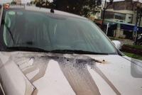 Để ô tô dưới chung cư, người đàn ông tá hỏa khi chiếc xe bị đổ đầy dầu nhớt và keo chó