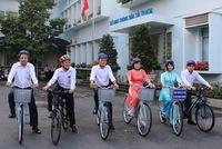 Sở GTVT kêu gọi cán bộ đi xe đạp