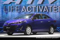 Toyota Yaris Ativ - phiên bản giá rẻ của Vios - chính thức ra mắt Đông Nam Á