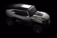 Hé lộ hình ảnh của mẫu SUV mang cảm hứng xe quân sự hoàn toàn mới
