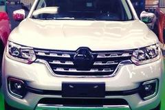 Xe bán tải Renault Alaskan 2017 lần đầu tiên lộ diện