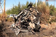 Đà Nẵng: Range Rover bốc cháy trơ khung, 5 người bò ra ngoài tháo chạy trong hoảng loạn