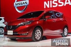 Xe gia đình cỡ nhỏ Nissan Note 2017 ra mắt Đông Nam Á, giá từ 364 triệu Đồng