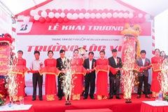 Bridgestone khai trương Trung Tâm Dịch Vụ Lốp Du lịch (B-shop) đầu tiên tại Nghệ An