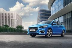 Sedan cỡ nhỏ Hyundai Accent 2018 lộ diện sớm